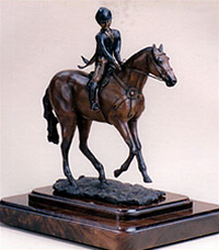 Victory Gallop - World Champion Children's Hunter Rider Perpetual Trophy