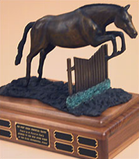 World Champion Hunter Rider Best Horse Perpetual Trophy